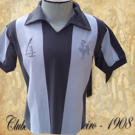 Camisa retrô Atlético tradicional