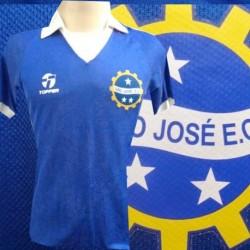 Camisa retrô São José  azul - Topper