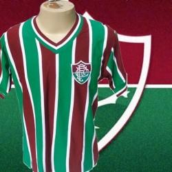 Camisa retrô Fluminense - tradicional