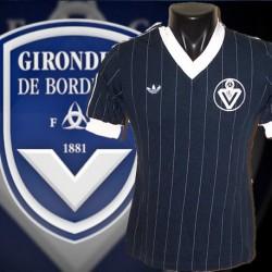 Camisa retrô logo Girondins de Bordeaux  - FRA