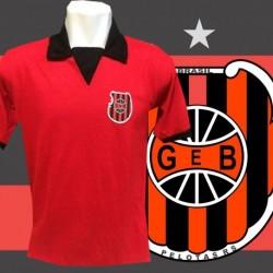 Camisa retrô  GEB   vermelha - 1961