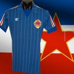 Camisa retrô   Yugoslavia   -1984