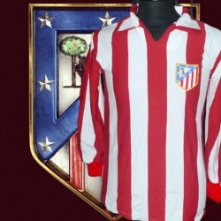 Camisa Retrô Atlético  de Madrid  ML  1970- ESP