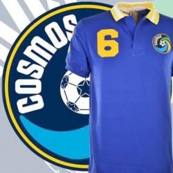 Camisa retrô Cosmos de Nova York azul- 1977