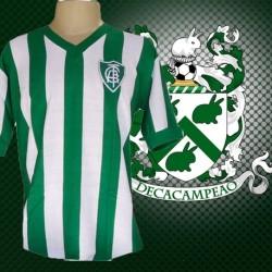 Camisa retrô América Mineiro Listrada