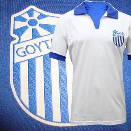 Camisa Retrô Goytacaz FC  branca 1980.