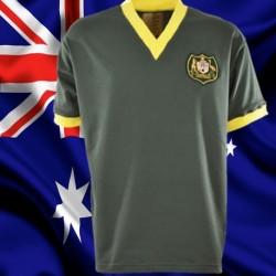 Camisa retrô Australiana  verde oliva .