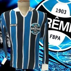 - Camisa retrô Grêmio   listrada   ML- Olympicus