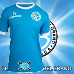 Camisa Retrô Belgrano Topper - ARG