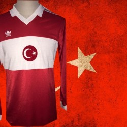 Camisa retrô Turquia  ML  -1988