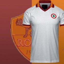 Camisa retrô AS Roma branca 1970 - ITA