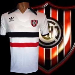 Camisa Retrô Chacarita juniors  branca 1980- ARG