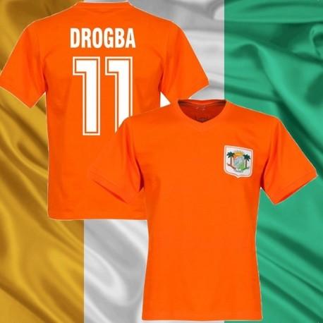 Camisa retrô   Costa do Marfim