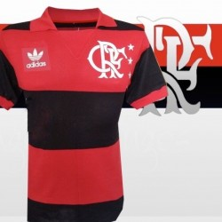 Camisa retrô Flamengo comemorativa -1981