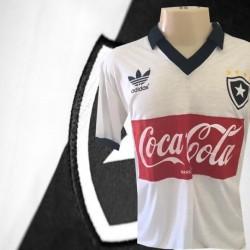 Camisa retrô Botafogo coca cola    vermelho - 1988