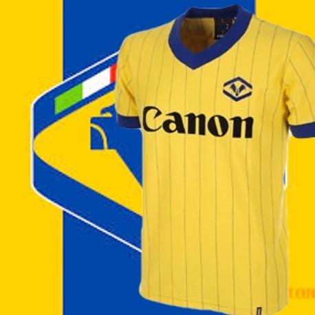 Camisa Retrô Fiorentina  logo  ML-1980 - ITA