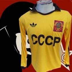 Camisa retrô goleiro Dassaiev  amarela