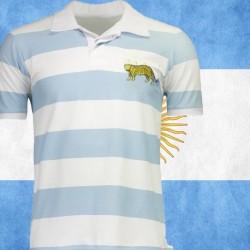 Camisa  retrô  de rugby  Argentina  los pumas