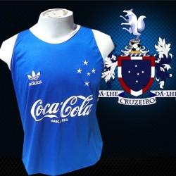 Regata retrô Cruzeiro coca cola