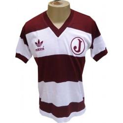 Camisa retrô Juventus da Mooca listrada decada de 80