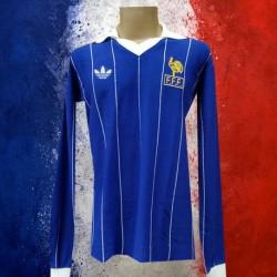 Camisa Retrô da França ML - 1982