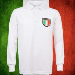 Camisa retrô de rugby Italia ML - 1980