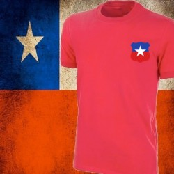 Camisa retrô Chile 1973