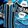 Camisa retrô Grêmio listrada ML- Olympicus
