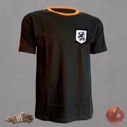 Camisa retrô Holanda preta goleiro
