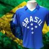 Camisa Retrô Seleção gola redonda topper -1982