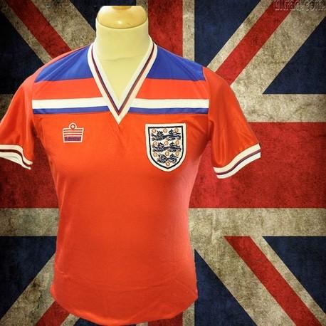 Camisa retrô Inglaterra vermelha gola polo -1990 0b4c7b6b37f83