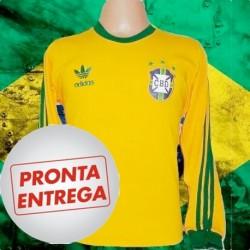 Camisa Retrô Seleção 3 Listras -1978