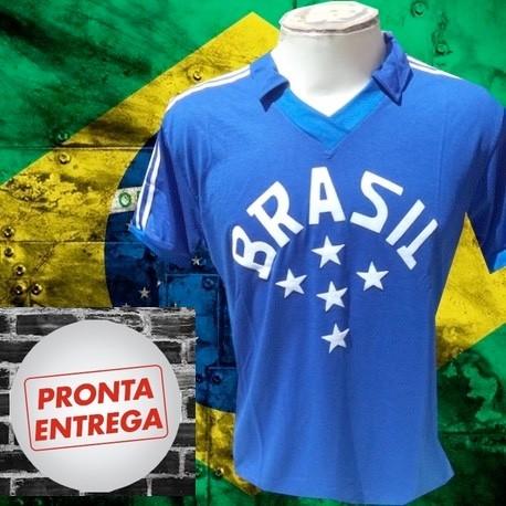 0629669c0 Camisa Retrô Seleção gola redonda topper -1982