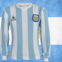 Camisa Retro Argentina Maradona - 1982