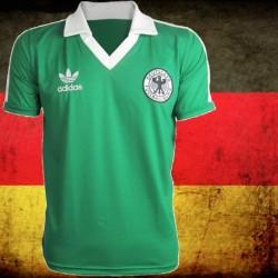Camisa retrô Alemanha verde - 1970