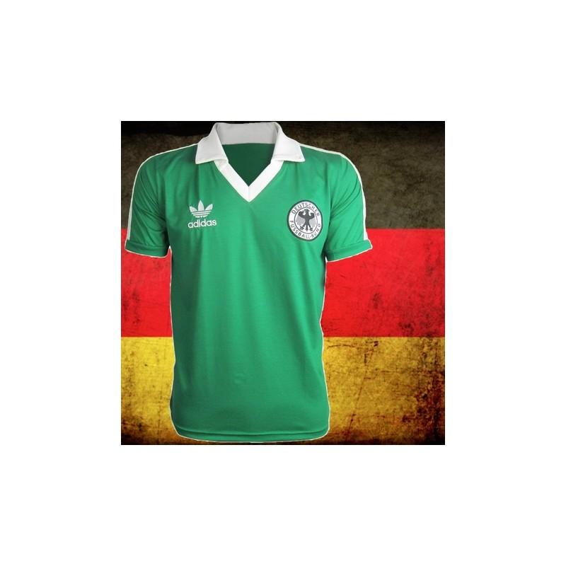 Camisa retrô cordinha Alemanha verde - 1954 6884c2d4dbc31
