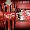 Camisa retrô Santa Cruz tricolor Banorte