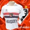 Camisa retro São Paulo FC - branca Nugget