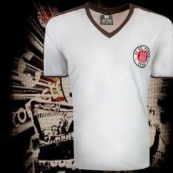 Camisa retrô st PAULI preta ML