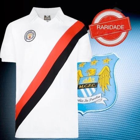 Camisa retrô Manchester city Saab - ENG