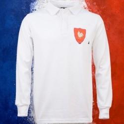Camisa retrô França rugby ML- 1980