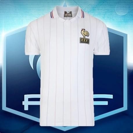 Camisa retrô França branca 1978