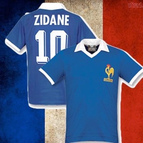 Camisa retrô França Cantona personalizada