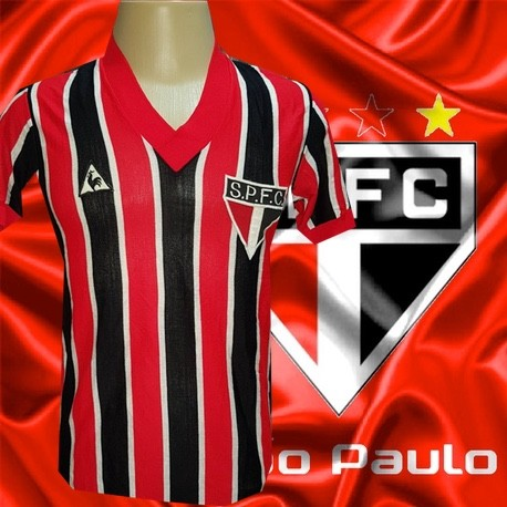 Camisa retrô São Paulo tricolor manga longa - 1978