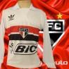 Camisa retro São Paulo branca ML- BIC