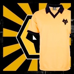 Camisa Retrô Crystal Palace ML 1971 listrada- ENG