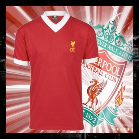 Camisa retrô Liverpool veremlha gola V umbro - ENG