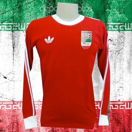 Camisa retrô Iran 1978