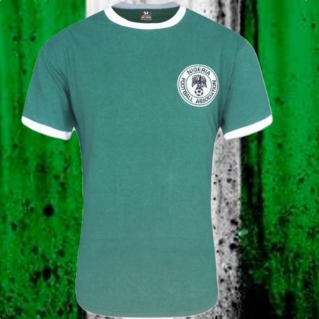 Camisa retrô Nigeria 1980
