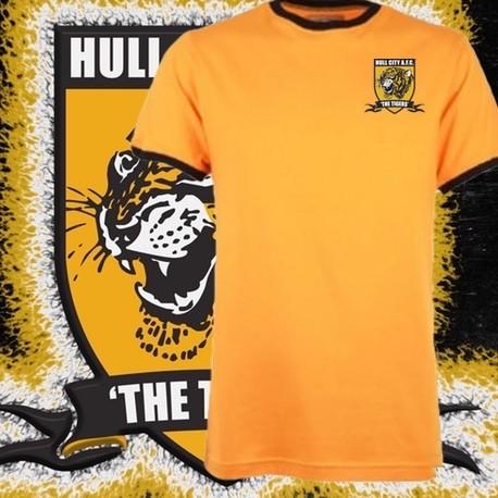 Camisa Retrô Hull city ML 1970- ENG